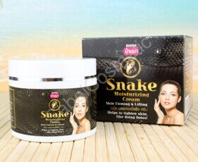 Крем для лица змеиным ядом Banna Snake Moisturizing Face Cream Skin Firming & Lifting, 100 ml