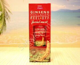 Маска-пленка для лица женьшенем и коллагеном Banna Ginseng Collagen Peel-Off Facial Mask, 120ml