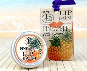 "Бальзам для губ ""Ананас"" Be Thank lip Balm Pineapple, 10 ml"