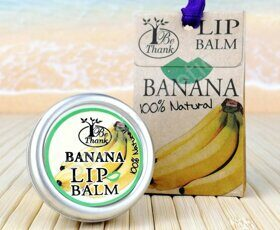 "Бальзам для губ ""Банан"" Be Thank lip Balm Banana, 10 ml"