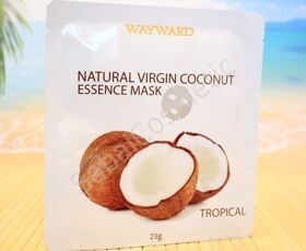Тканевая маска Wayward Natural Virgin Coconut Essence Mask