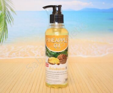 Масло для тела массажное Banna PINEAPPLE Oil, 250ml