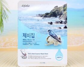 "Тканевая маска для лица ""ласточкино гнездо"" Esfolio Bird'S Nest Essense Mask Sheet"
