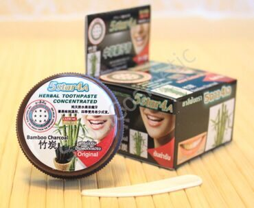 "Зубная паста ""Бамбук и уголь"" 5STAR4A Herbal toothpaste bamboo charcoal, 25g"
