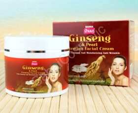Крем для лица с женьшенем и жемчугом Banna Ginseng & Pearl Firming Facial Cream, 100 ml