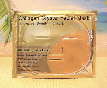Золотая коллагеновая маска для лица Belov Collagen Crystal Facial Mask