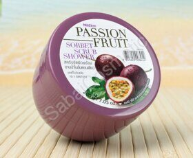 Скраб-Сорбет для душа с Маракуйей Mistine Passion Fruit Sorbet Scrub Shower, 200g
