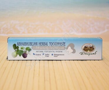 Тайская зубная паста мангустиновая Abhaibhubejhr Herbal Toothpaste, 100ml