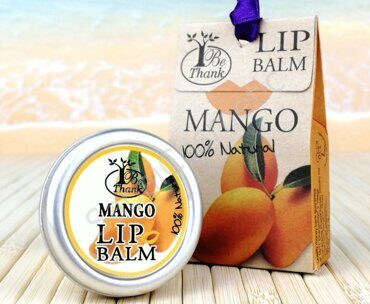 "Бальзам для губ ""Манго"" Be Thank lip Balm Mango, 10 ml"