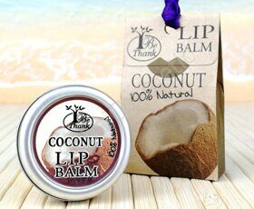 "Бальзам для губ ""Кокос"" Be Thank lip Balm Coconut, 10 ml"