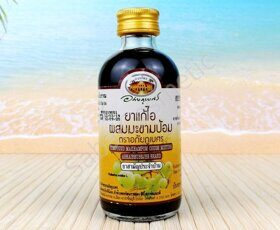 Тайская травяная микстура с эмбликой Abhaibhubejhr Compound Makham Pom Cough Mixture, 120ml