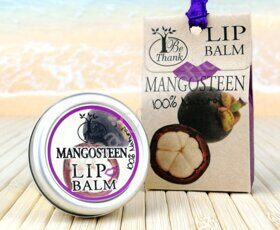 "Бальзам для губ ""Мангостин"" Be Thank lip Balm Mangosteen, 10 ml"