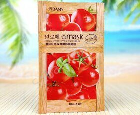 Тканевая маска для лица с томатом Pibamy Tomato Mask, 30ml