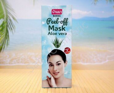 Маска-пленка для лица Алоэ Вера Banna Peel-off Mask Aloe Vera, 120ml